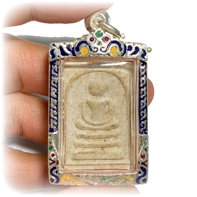 Pra Somdej Kaiser Wat Sri Palotay 2516 BE Blessed by Luang Phu Tim & Luang Phu To