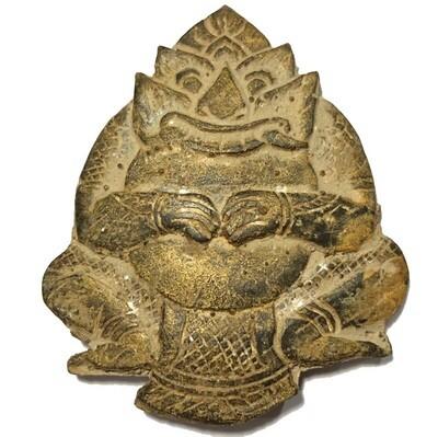 Rahu Om Jantr Wicha Lanna Nuea Kala Ta Diaw Phueak Circa 2465 BE Kroo Ba Nanta Wat Tung Man Dtai