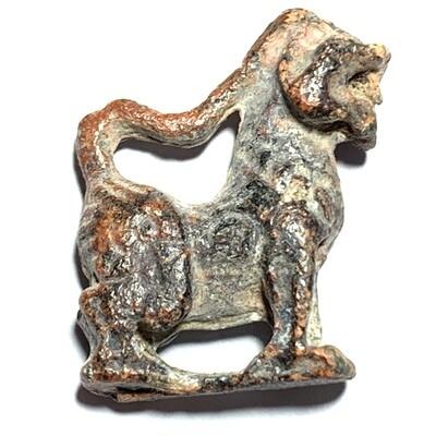 Roop Lor Boran Singh Kor Yaw Nuea Chin Sanim Daeng Long Neck Himapant Lion Luang Por Guay Wat Kositaram