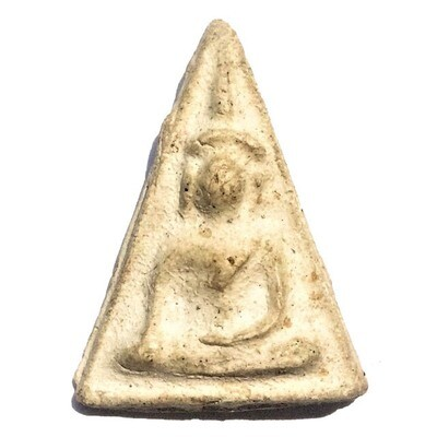 Pra Nang Paya Amulet Nuea Pong 2496 BE Luang Phu Phueak Wat Ging Gaew