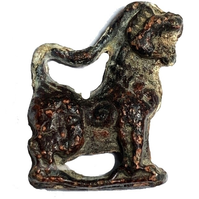 Singh Kor Yaw Maha Amnaj Nuea Chin Sanim Daeng Long Neck Himapant Lion Luang Por Guay Wat Kositaram