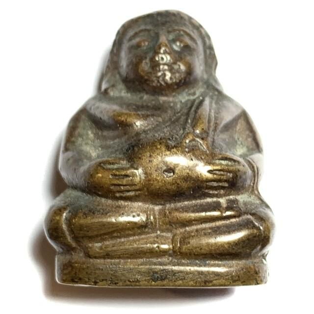 Roop Lor Pra Sangkajjai Pim Yai Ud Kring Nuea Samrit Wat Prasat Bunyawas 2506 BE 2 Blessings 234 Guru Monks