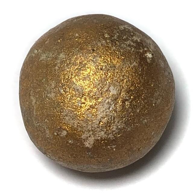 Look Om Pong Prai Kumarn Ta Bronze Wanich Luang Phu Tim Wat Laharn Rai 2517 BE 1.8 Cm