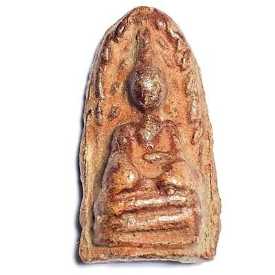 Pra Rod Mer Dto 2521 BE Nuea Din  Pasom Wan Sabu Luead Big Hand Buddha of Survival Luang Por Guay Wat Kositaram