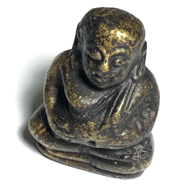Roop Lor Pra Sangkajjai Pim Yai Ud Kring Nuea Samrit 2506 BE Wat Prasat Bunyawas 2 Blessings 234 Guru Monks