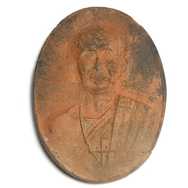 Pong Roop Khai 2495 BE Guru Monk Amulet Nuea Din Phao Luang Por Opasi Asrom Bang Mot