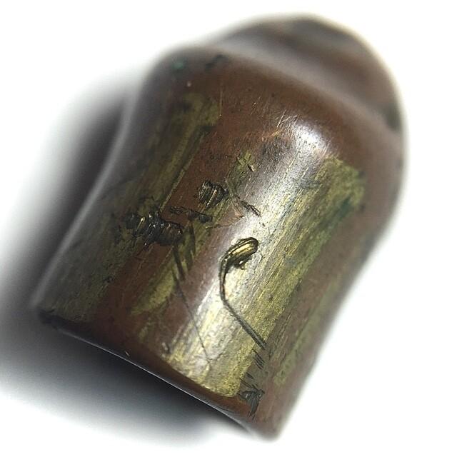 Hua Look Grasun Gan Pai Maha Ud 9mm Bullet Takrut Invincibility Spell 1.5 Cm Luang Por Guay Wat Kositaram