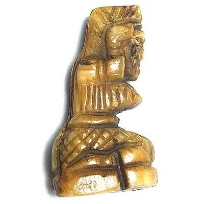 Pra Mae Nang Kwak Nuea Nga Gae Sacred Carved Ivory Merchants Daughter Deity Luang Por Derm Wat Nong Po