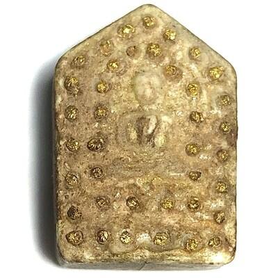 Khun Phaen Pong Prai Kumarn Pim Lek Nuea Khaw Hniaw Sukh 39 Chanuan Beads Solid Gold Takrut 2nd Prizewinner Certificate Luang Phu Tim Wat Laharn Rai