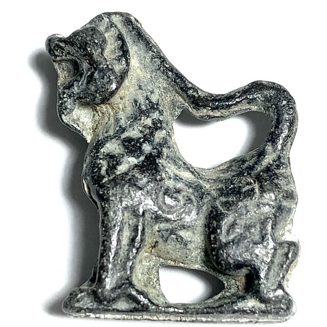 Singh Kor Yaw Maha Amnaj Nuea Chin Takua Long Neck Himapant Lion Luang Por Guay Wat Kositaram