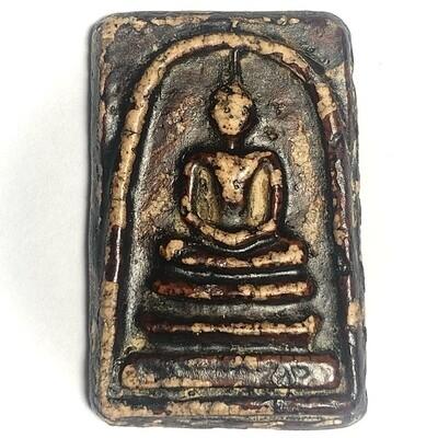 Somdej Wat Rakang Long Rak Chart Pim Gaes Talu Sum Block Chang Luang Wijarn & Authenticity Certificate Somdej Dto