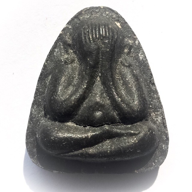 Pra Pid Ta Maha Lap Na Ta Na - Nuea Pong Bailan 2 Silver Takrut - 2522 BE Luang Phu To Wat Pradoo Chimplee