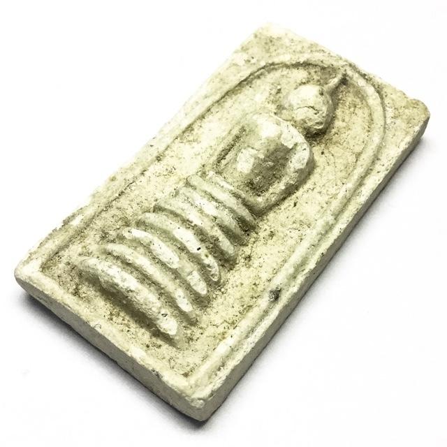 Pra Somdej Dtua Hnon Maggot Shaped Dais Buddha Amulet - Luang Por Wongs - Wat Bpariwas 2518 BE