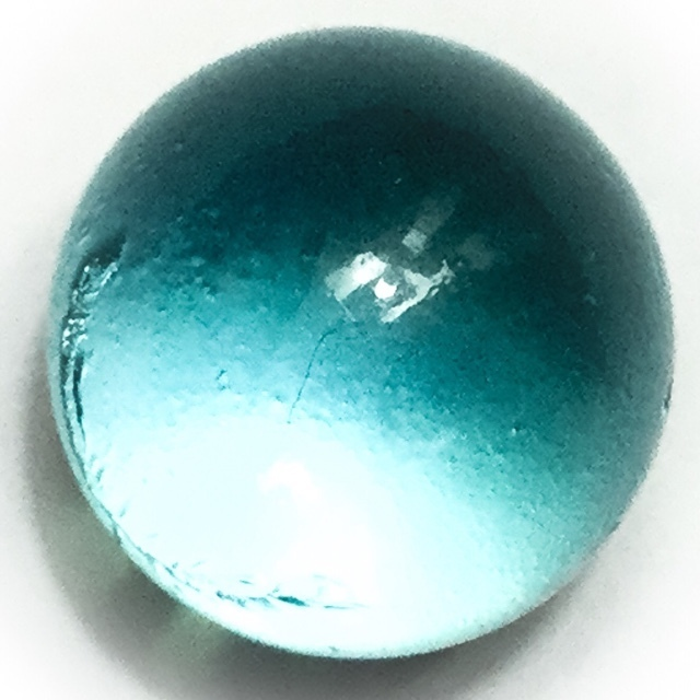 Look Gaew Sarapat Neuk Crystal Wishing Ball - Look Lek 1.5 Cm - Luang Por Opasi - Asrom Bang Mot 2490 BE