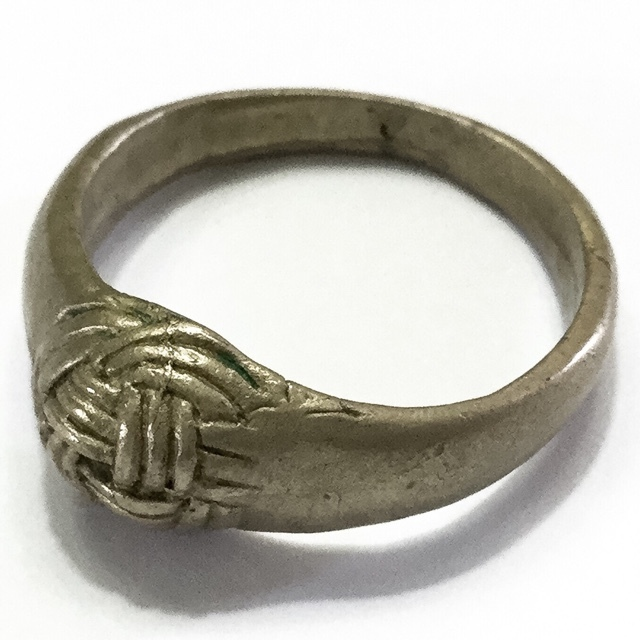 Hwaen Pra Pirord (Hwaen Dtakror) Magic Ring of Protection and Power Circa 2488 BE - Nuea Albaca - Luang Por Khwan Wat Ban Rai