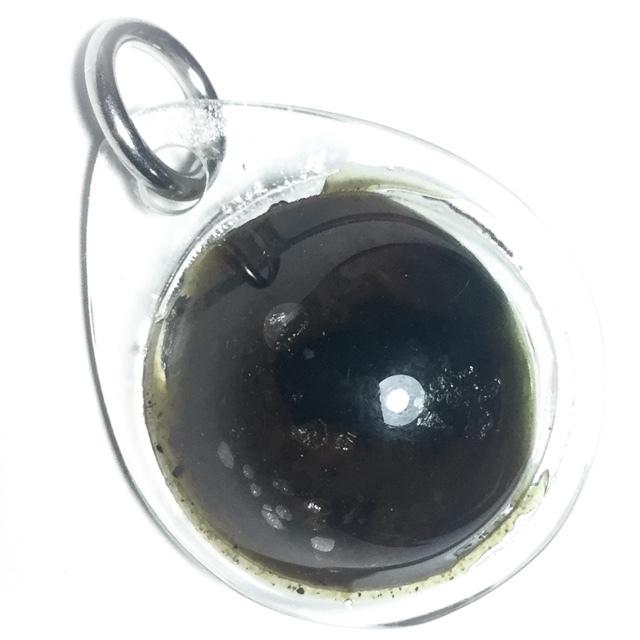 Look Om See Pheung Khiaw Green Prai Oil Balm Potion - Luang Por Tarb - Wat Mai Grabok Kheun Pheung