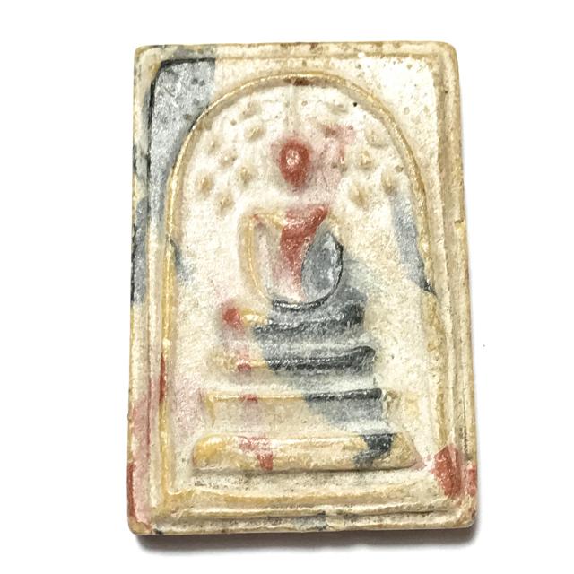 Pra Somdej Prok Po Sai Rung 2505 BE Rainbow Powders Bodhi Tree Buddha Luang Por Khom Wat Pai Rong Wua