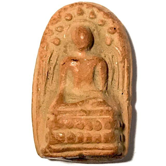 Pra Kong Lampun Clay Benjapakee Amulet - Nuea Din - Luang Por Guay Wat Kositaram