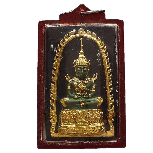 Pra Gaew Morakot Song Ruedu Rorn 2512 BE Emerald Buddha in Summer Robes - Luang Phu Rerm Wat Juk Gacher