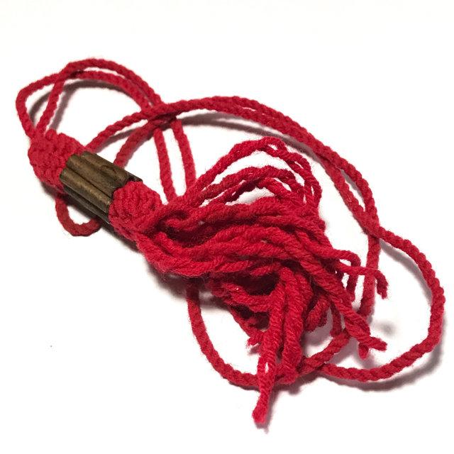 Takrut Sangwal Gao Gum Nine Yantra Spells Spellbound Necklace Wicha Lanna -  Luang Phu Kroo Ba Wang Wat Ban Den