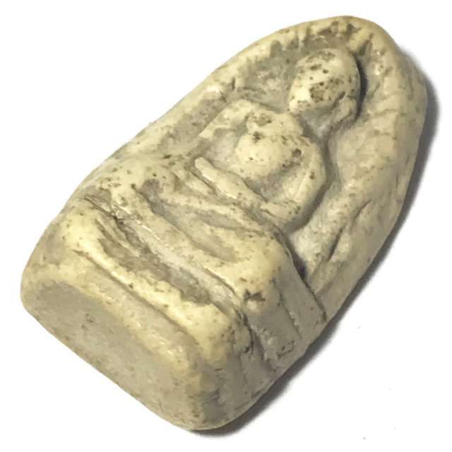 Pra Kru Wat Tap Khaw Pim Pra Rod Ancient Benjapakee Hiding Place Amulet - Somdej Pra Puttajarn (Dto)
