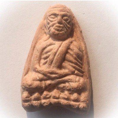 Pra Luang Phu Tuad Pim Tao Reed Lek - Wat Prasat Bunyawas 2505 BE - Nuea Khaw Lang Meng Roey Rae - Blessed in 2 Ceremonies by 234 Guru Masters