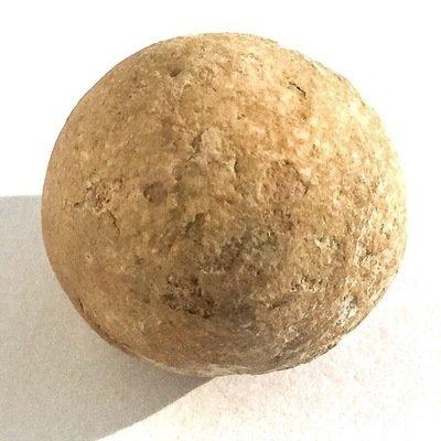 Look Om Pong Yant Grao Paetch 2460 BE - Sacred Powder Wishing Ball - Luang Por Parn Wat Bang Nom Kho