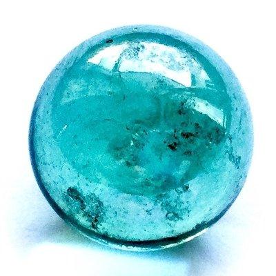 Look Gaew Sarapat Neuk Crystal Wishing Ball - Look Lek 1 Cm - Luang Por Opasi - Asrom Bang Mot 2490 BE