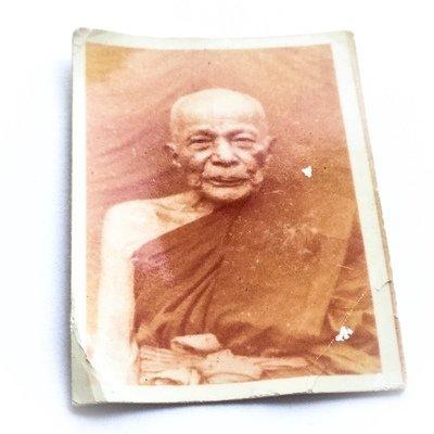 Roop Tai Pra Kroo Yan Wilas  Guru Monk Photo Amulet 2514 BE - Luang Por Daeng Wat Khao Bandai It