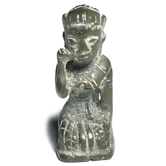 Pra Nang Kwak Loi Ongk Statuette for Good Business and Mercy Charm - Luang Por Jong Wat Na Tang Nork