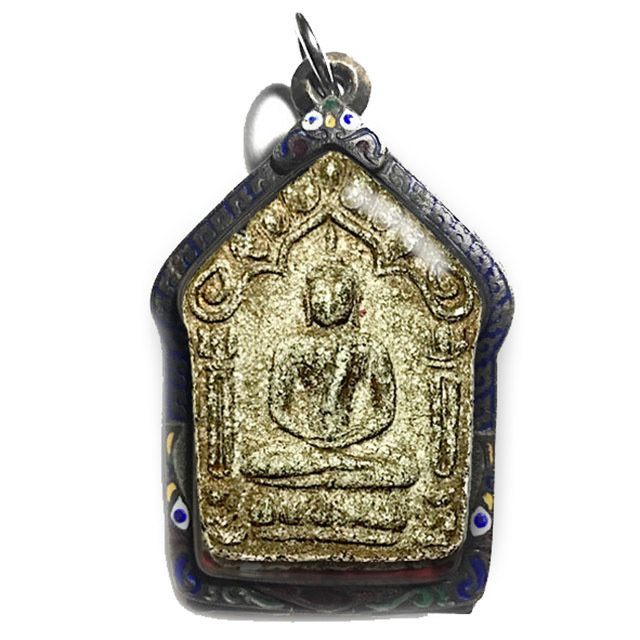 Khun Phaen Prai Kumarn Pim Yai Niyom Block 2 Nuea Khaw Hniaw Sukh Takrut Maha Bpraab & Certificate Luang Phu Tim
