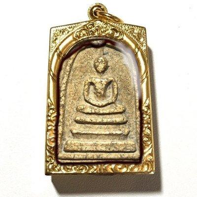 Somdej Wat Rakang Pim Gaes Talu Sum Niyom Block Chang Luang Wijarn Authenticity Certificate Free EMS & Gold Casing Somdej Dto Prohmrangsri
