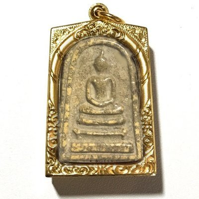 Pra Somdej Wat Rakang Pim Gaes Jarod Sum Chang Luang Wijarn with Certificate Somdej Dto Prohmrangsri Free EMS & Gold Casing