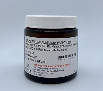 Elixir Anti-inflammatory Pain Cream 100g