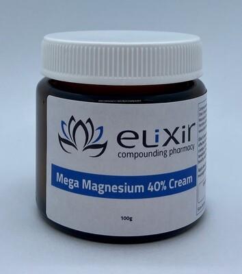 Mega Magnesium 40% Cream