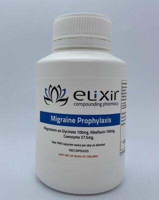 Migraine Prophylaxis 100 Capsules
