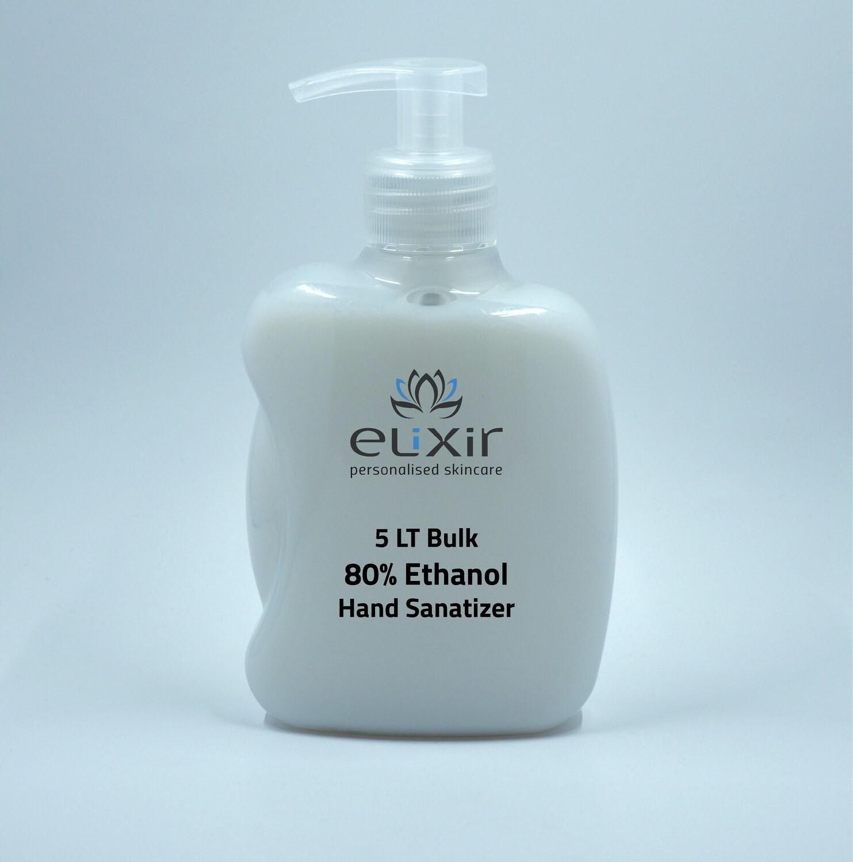 5 Litre Ethanol Hand Sanitiser 80%