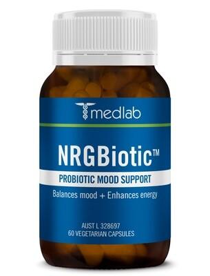 NRG Biotic Probiotic Mood Support - 60 Capsules