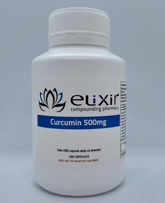 Curcumin 500mg - 100 Capsules