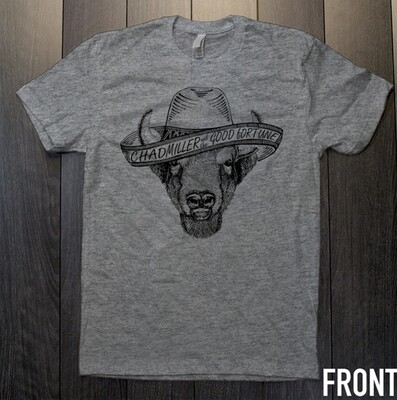 Heather Grey Buffalo Sombrero Shirt