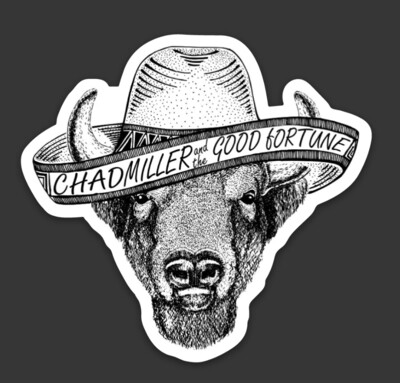 Buffalo Sombrero Sticker
