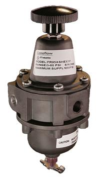 ITT Conoflow FR95XSHEX1F Airpack Filter-Regulator, 0-60 PSI