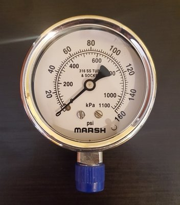Marsh 63MM (2.5in) Severe Service, 1/4