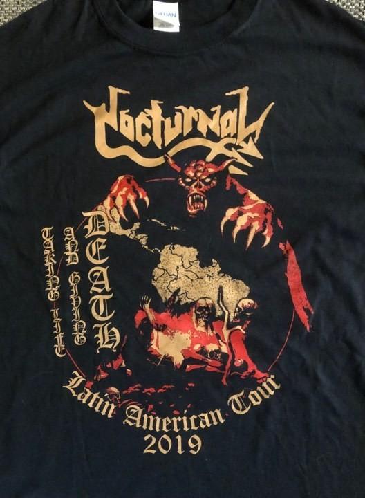 NOCTURNAL- South American Tour 2019 Tour T-Shirt