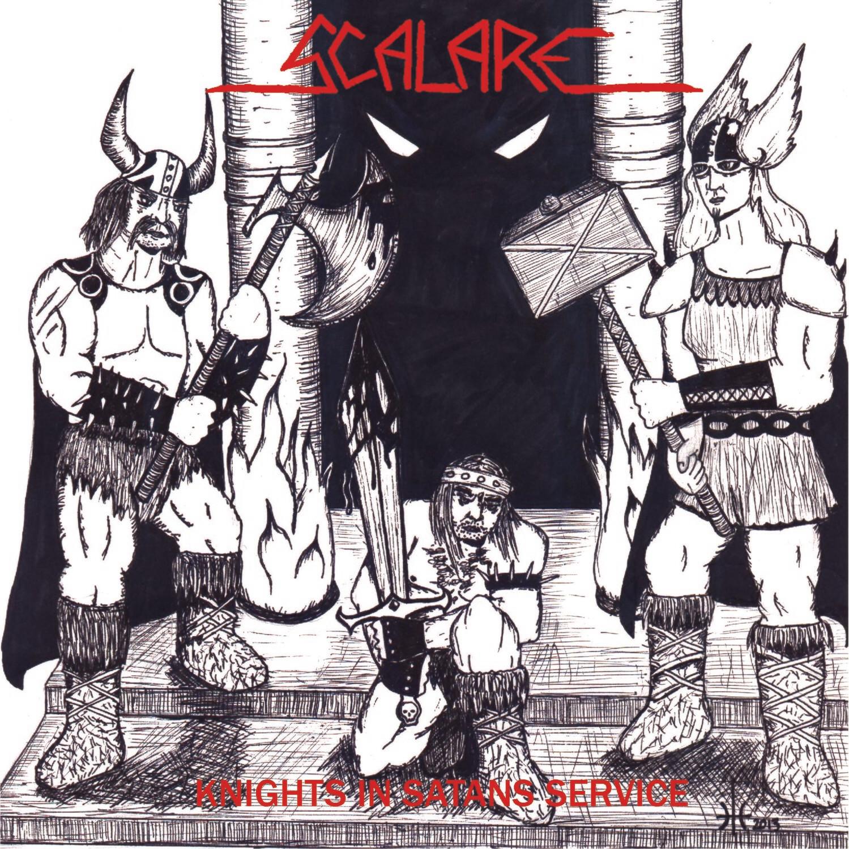 "SCALARE - Knights in Satans Service 7""EP"