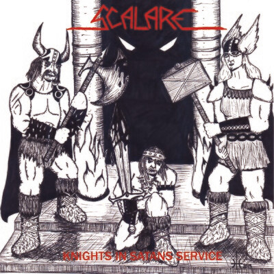"SCALARE - Knights in Satans Service 7""EP"
