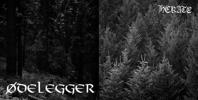 Ødelegger / Hekate - Split 7''