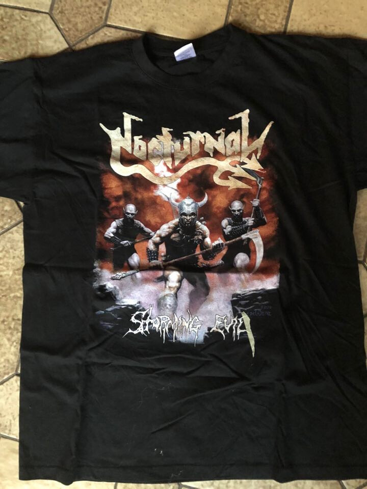 NOCTURNAL - Storming Evil T-Shirt