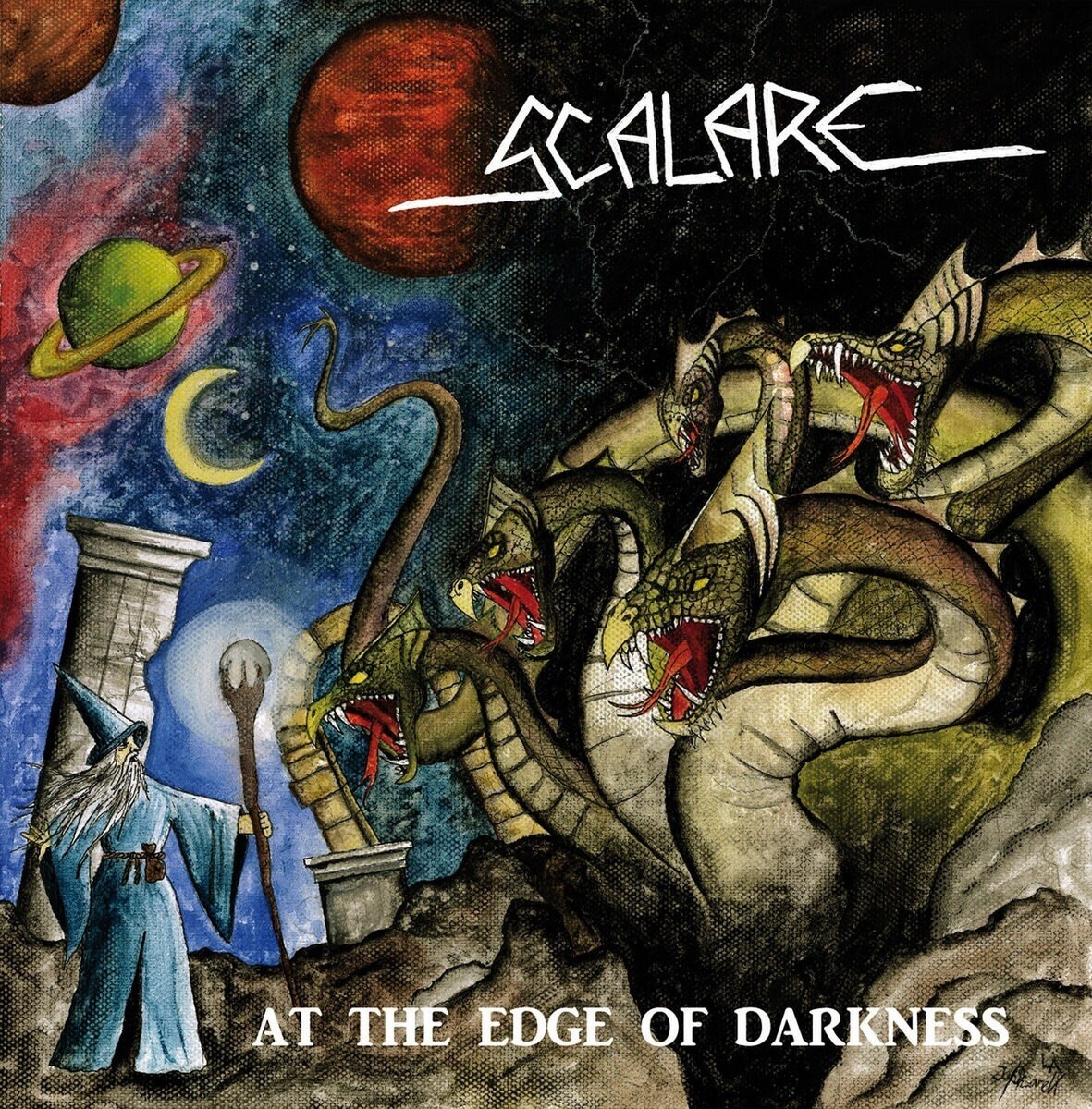 SCALARE - At the edge of darkness LP/CD