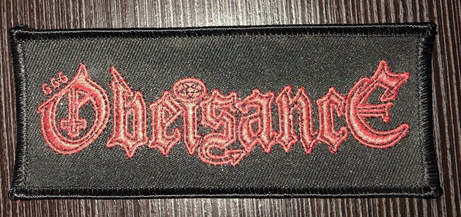 OBEISANCE- Logo Patch